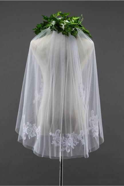 Bridal veil short | Wedding dress with veil