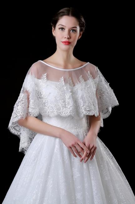 Jacket over wedding dress | Bolero tattoo tip