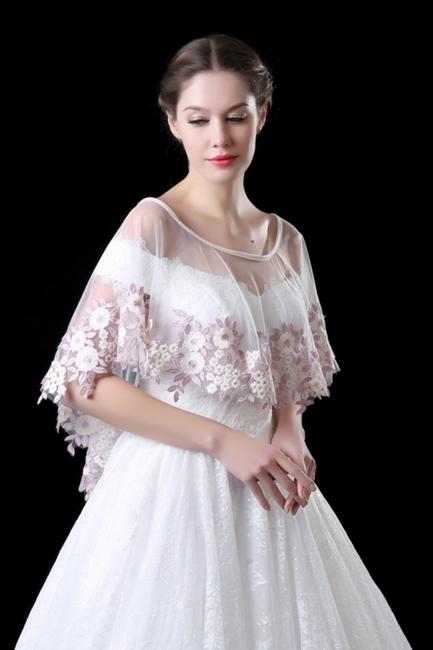 Jacket for wedding dresses | wedding dress bolero lace