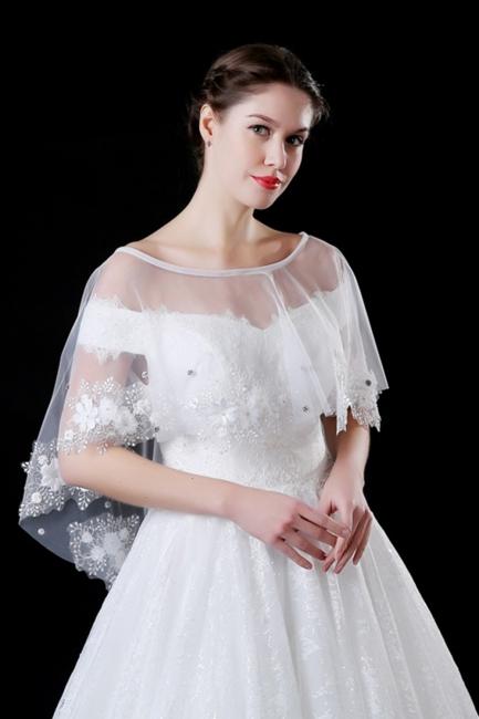 Bolero for wedding dress | Jacket wedding dress ivory lace