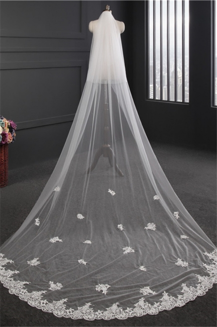Veil Ivory Long | Wedding veil
