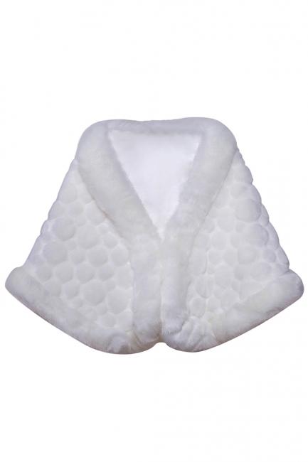 Jacke Brautkleid Ivory | Bolero für Hochzeitskleid