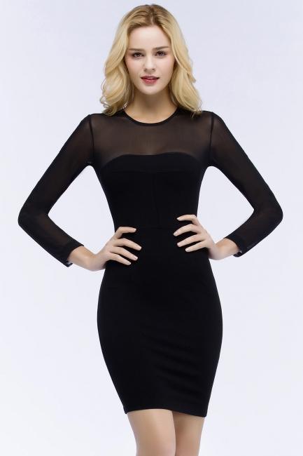 Festliche Kleidung Damen | Cocktailkleider Kurz Schwarz