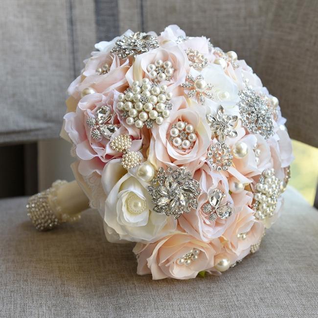 Bridal bouquet of peonies | Order wedding bouquet online