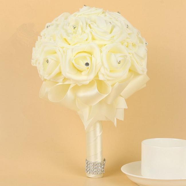 Bridal bouquet vintage | Bridal bouquet of peonies