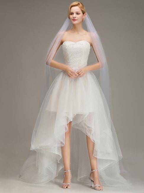 Brautschleier Ivory   Schleier Hochzeit