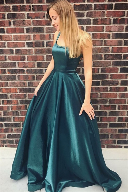 Elegant evening dresses long green prom dresses cheap online