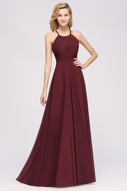 Schlichte Brautjungfernkleider Rot | Günstige Kleider Für Brautjungfern