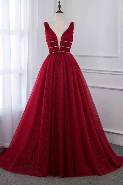 Abendkleid Rot Lang Günstig | Abendkleider Festlich Online