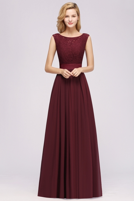 Burgundy Bridesmaid Dresses Long Cheap | Dresses for wedding guests
