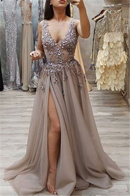 Long evening dresses with glitter | Buy evening wear online