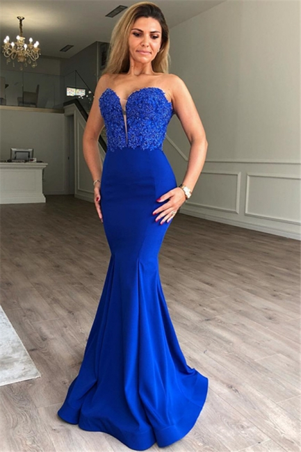 Sexy evening dress blue | Long Prom Dresses Cheap Online
