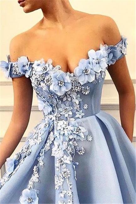 Elegant evening dresses long blue | Buy prom dresses online