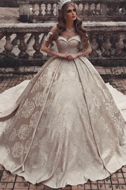 Luxury wedding dresses A line | Princess wedding dress online