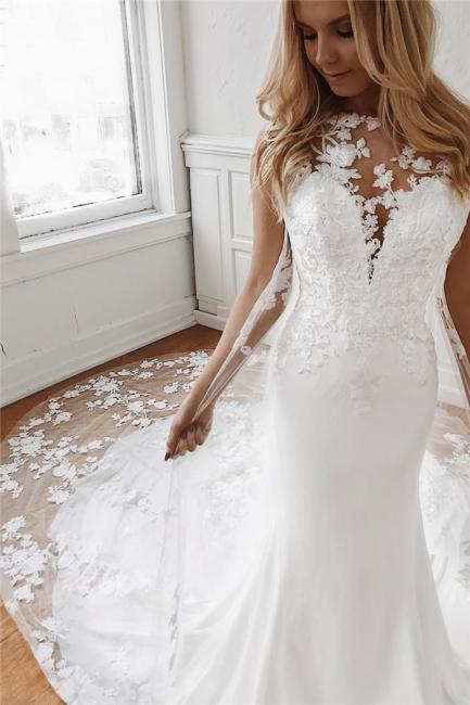 Elegante Brautkleider Mit Spitze | Hochzeitskleid Meerjungfrau Günstig Online