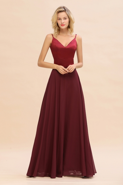 Red Bridesmaid Dresses Long   Cheap dresses for bridesmaids