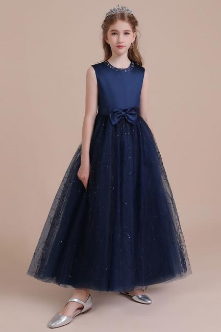 Blumenmädchen Kleid Blau | Blumenmädchen Kleider Hochzeit