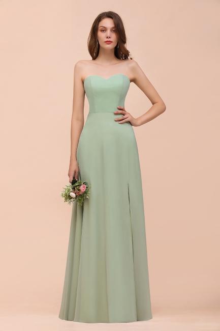 Brautjungfernkleider Lang Mint Grün   Hochzeitskleider Online Kaufen