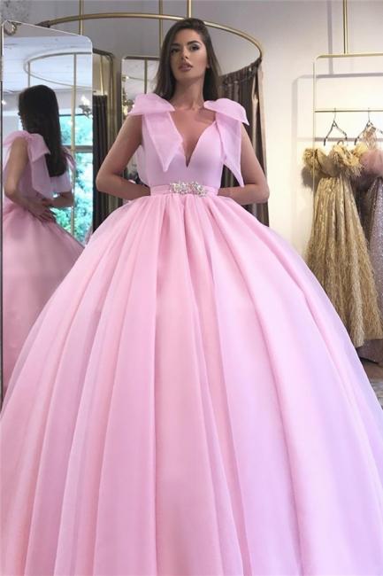 Elegant evening dresses long pink   Evening wear cheap online