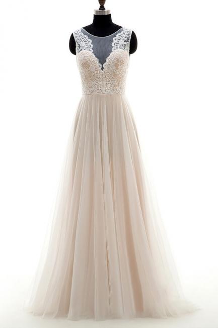 Fashion Brautkleider A Linie | Hochzeitskleider Schlicht Online