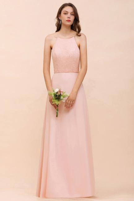 Elegante Brautjungfernkleider Rosa | Brautjungfernkleid Lang Günstig