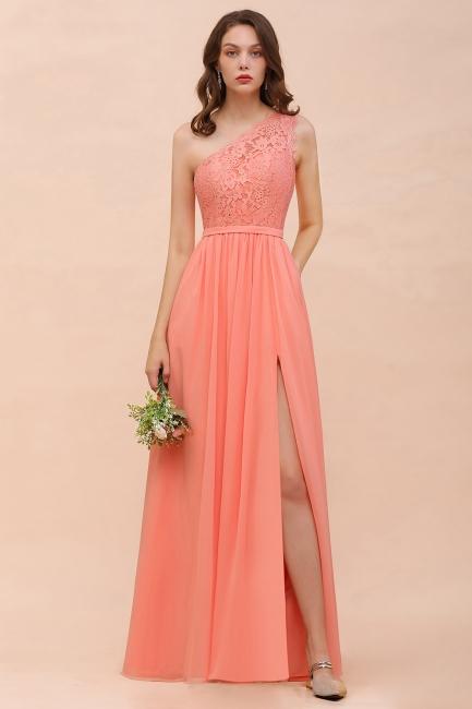 Wunderschöne Brautjungfernkleider Lang Coral | Kleider Für Brautjungfern Günstig