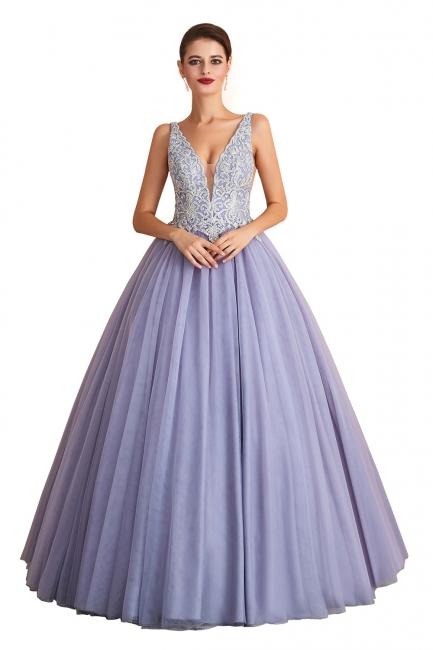 Designer Evening Dress Long V Neck | Evening wear online