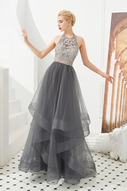 Long prom dresses with glitter | Evening wear online