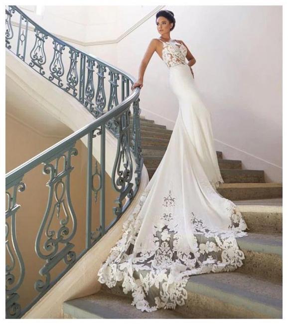 Brautkleid Meerjungfrau Vintage | Schön Hochzeitskleider mit Spitze