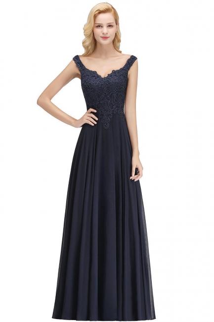 Evening dress long black | Evening wear online