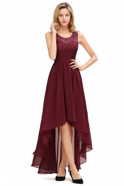 Modern evening dresses | Cocktail dresses front short long back