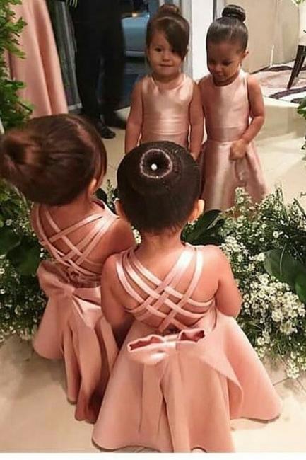 Flower girl dress pink | Flower girl dresses for children