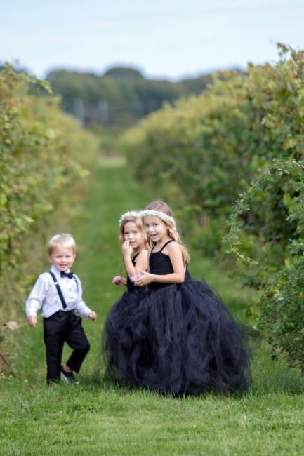 Blumenmädchenkleider für Kinder   Blumenmädchen Kleider Hochzeit