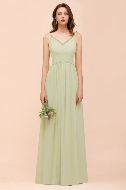 Lumi Grüne Brautjungfernkleider Günstig   Kleider Für Brautjungfern