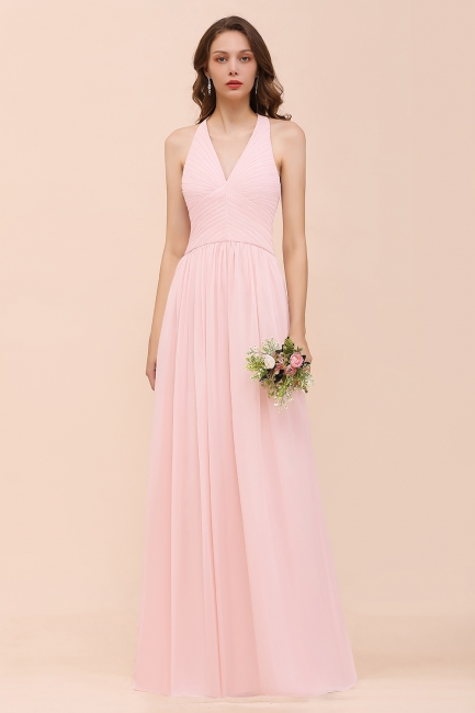 Bridesmaid Dresses Long Pink   Bridesmaid dresses