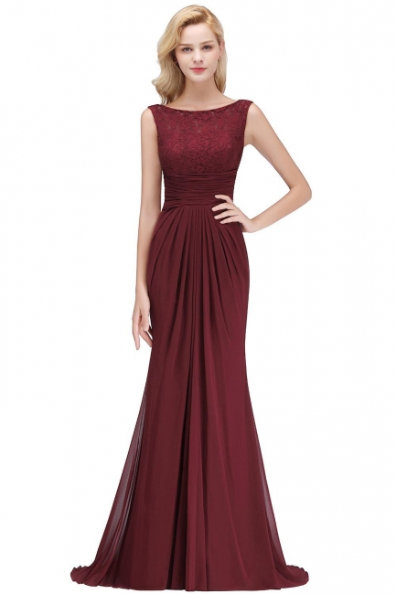 Schöne Abendkleider Lang Rot | Abiballkleider Günstig Online