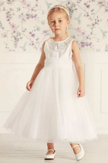 Blumenmädchenkleider für Kinder | Blumenmädchen Kleider Hochzeit