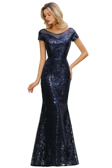 Designer evening dresses long glitter | Prom dresses cheap