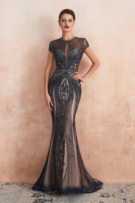 Prom Dresses Long Black | Evening dress with glitter