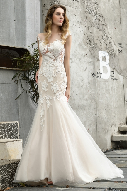 Gorgeous Wedding Dresses With Lace | Mermaid wedding dresses