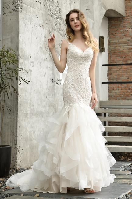 Beautiful Wedding Dresses Cheap | Mermaid lace wedding dress