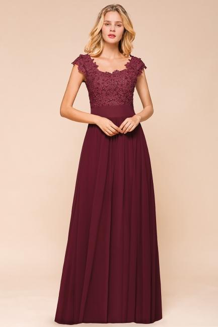 Designer evening dresses wine red | festive dresses floor length