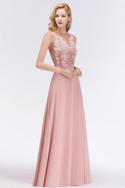 Sexy Abendkleid Lang Rosa | Abendmoden Online