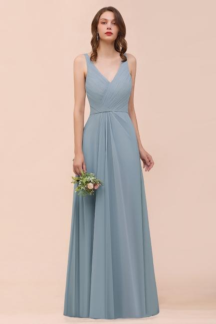 Dunty Blue Brautjungfernkleider Günstig | Hochzeitspartykleider Brautjungfern