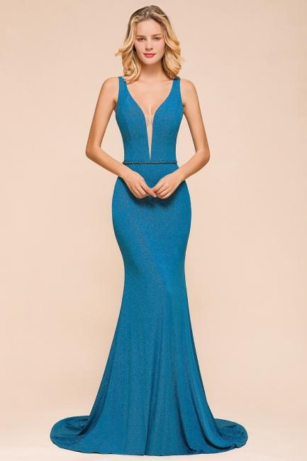 Abendkleider Lang Blau   Abendmoden Online
