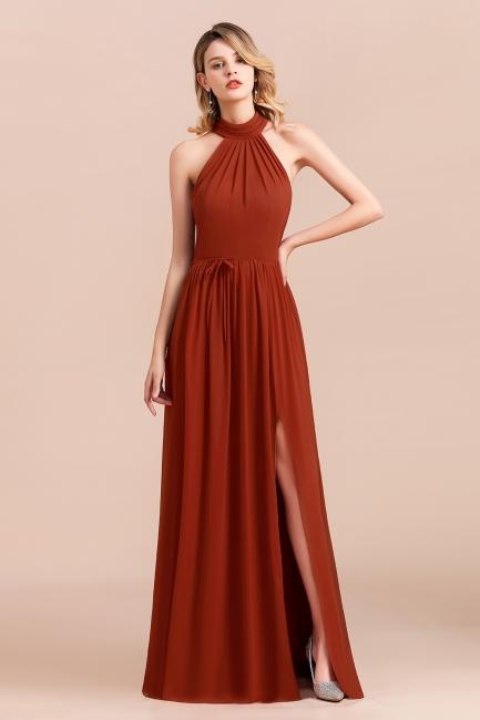Rote Brautjungfernkleider Lang Günstig   kleider Für Hochzeitsgäste