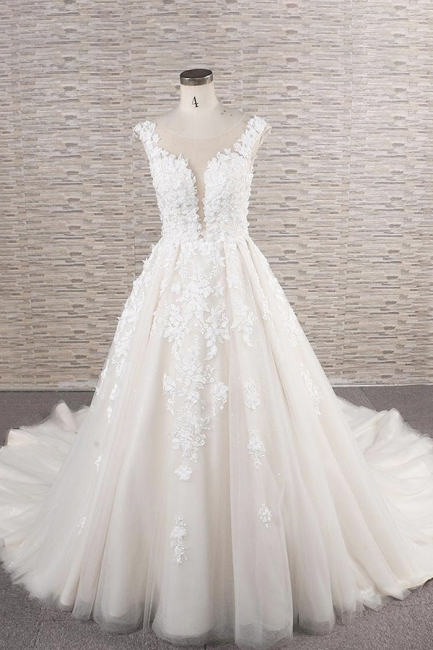 Fashion wedding dress A line | Wedding fashions with lace