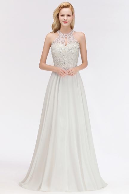 Abendkleid Lang Weiß | Abiballkleider Günstig Online