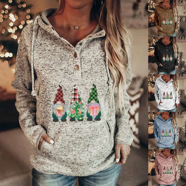 Lustige Weihnachtspullover Damen | Hoodie Bedrucken
