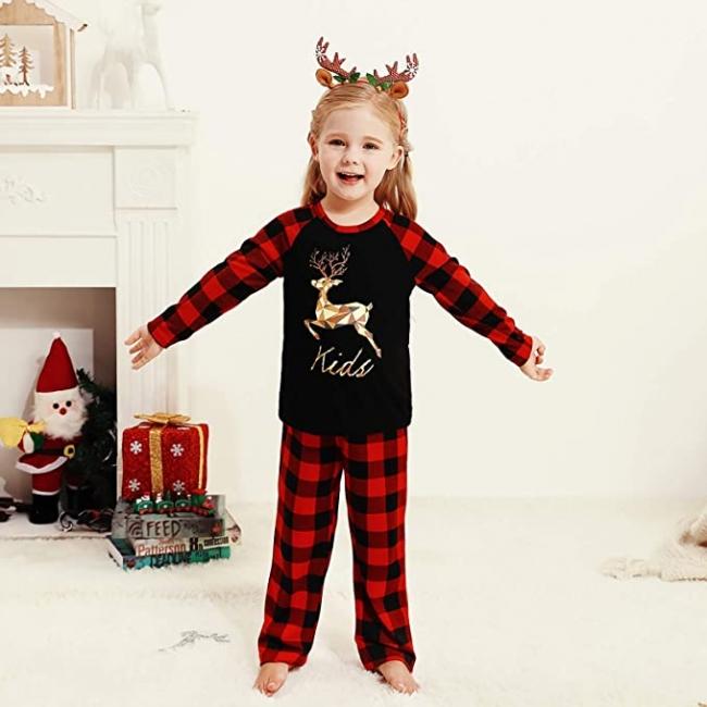 Children's pajamas Christmas | Sleepwear women elegant